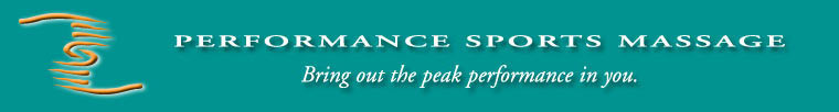 Performance Sports Massage - Bring out the peak performance in you.